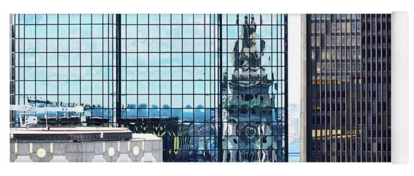 Custom House Reflection Yoga Mat