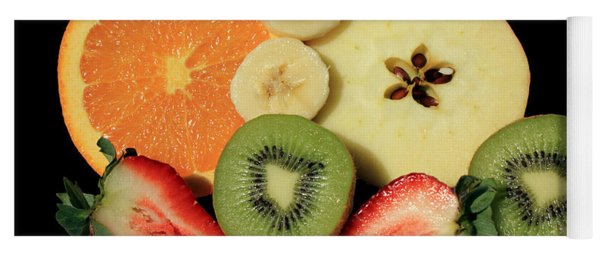 Cut Fruit Yoga Mat