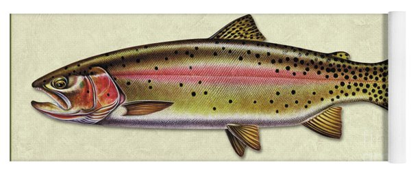 Cutthroat Trout Id Yoga Mat