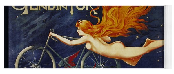 Cycles Gladiator  Vintage Cycling Poster Yoga Mat