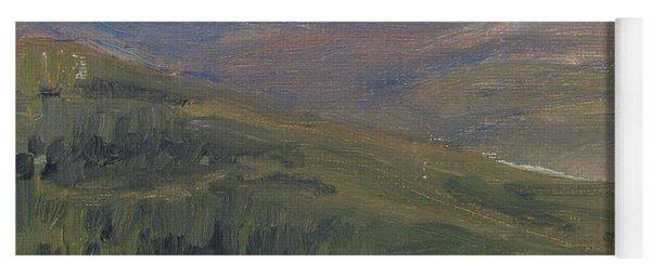 Dagrar Over Salenfjallen - Shifting Daylight Over Distant Horizon 1 Of 10_0034 50x50 Cm Yoga Mat