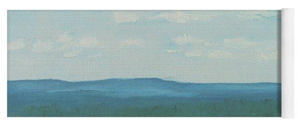 Dagrar Over Salenfjallen- Shifting Daylight Over Distant Horizon 3 Of 10_0029 50x40 Cm Yoga Mat