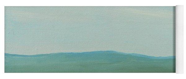Dagrar Over Salenfjallen- Shifting Daylight Over Distant Horizon 4 Of 10_0029 51x40 Cm Yoga Mat