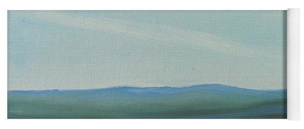 Dagrar Over Salenfjallen- Shifting Daylight Over Distant Horizon 6a Of 10_0027 50x40 Cm Yoga Mat