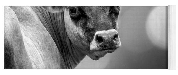 Dairy Cow Elsie Yoga Mat