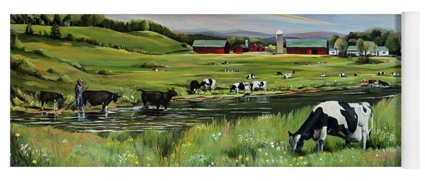 Dairy Farm Dream Yoga Mat