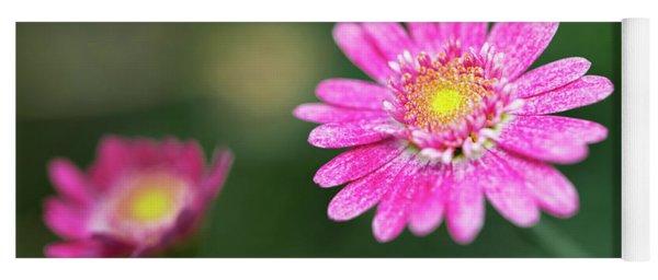 Daisy Flower Yoga Mat