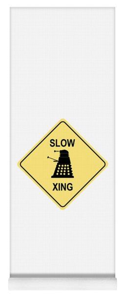 Dalek Crossing Yoga Mat