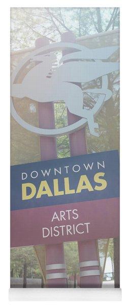 Dallas Arts District Yoga Mat