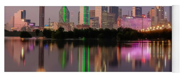 Dallas City Reflection Yoga Mat