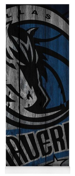 Dallas Mavericks Wood Fence Yoga Mat