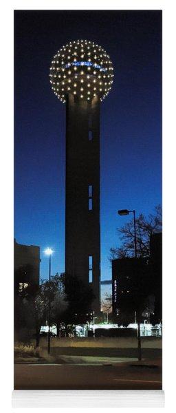 Dallas Reunion Tower Yoga Mat