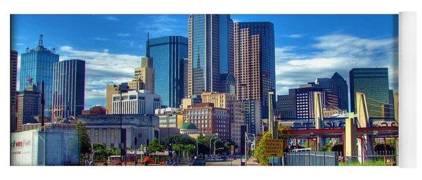 Dallas Skyline Yoga Mat