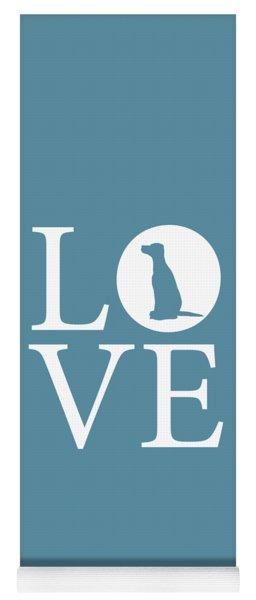 Dalmatian Love Yoga Mat