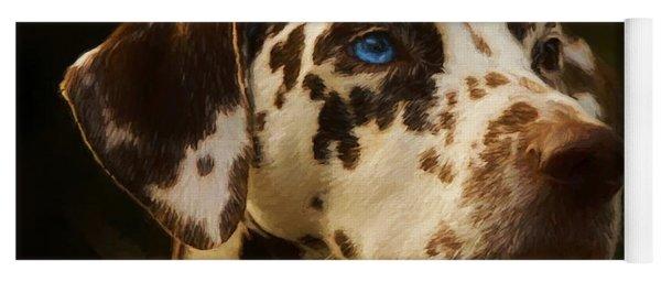 Dalmatian - Painting Yoga Mat