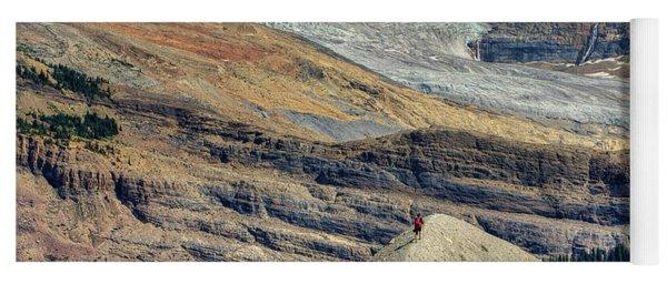 Daly Glacier And Yoho National Park Adventure Yoga Mat