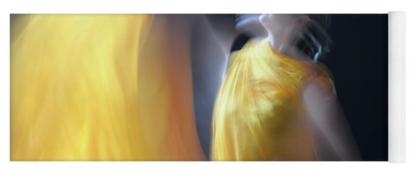 Golden Light Yoga Mat