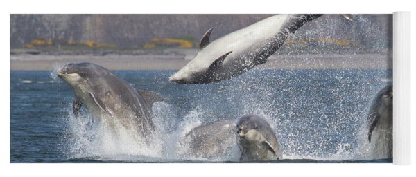 Dance Of The Dolphins Yoga Mat