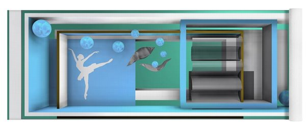 Dance With Balls Yoga Mat