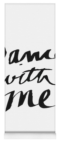 Dance With Me- Art By Linda Woods Yoga Mat