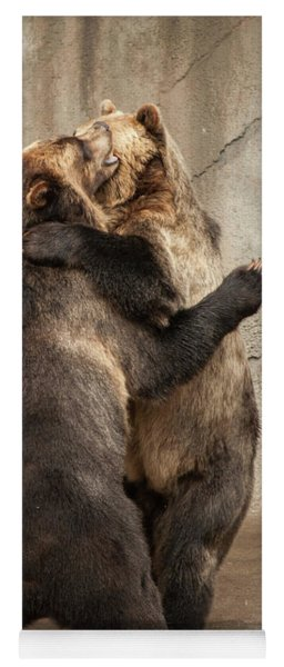 Dancing Bears Yoga Mat
