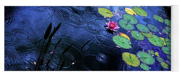 Dancing In The Rain Yoga Mat
