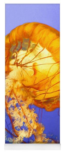 Dancing Jellyfish Yoga Mat