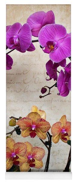 Dancing Orchids Yoga Mat