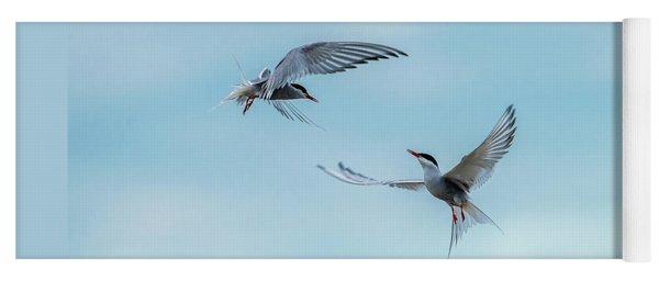 Dancing Terns Yoga Mat
