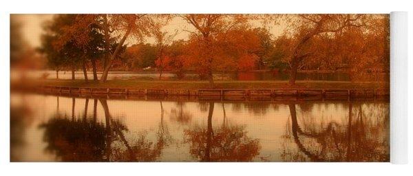 Dancing Trees - Lake Carasaljo Yoga Mat