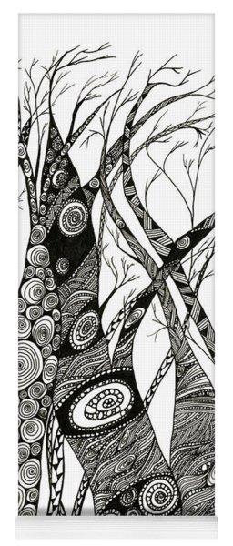 Dancing Trees Yoga Mat