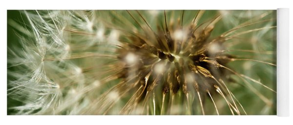 Dandelion Seed Head Yoga Mat