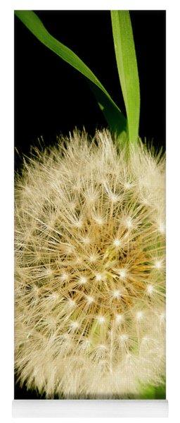 Dandelion's Seed Head. Yoga Mat