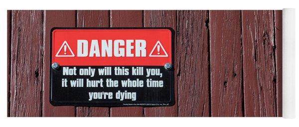 Danger Yoga Mat