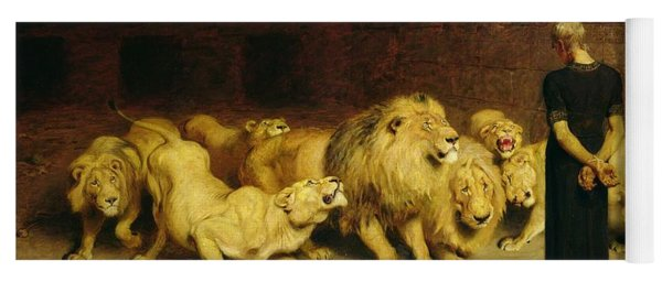 Daniel In The Lions Den Yoga Mat
