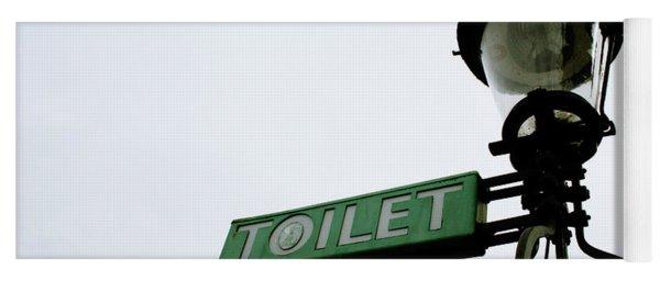 Danish Toilet Sign Yoga Mat