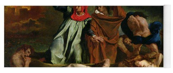 Dante And Virgil In The Underworld Yoga Mat