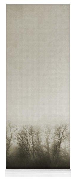 Dark Foggy Wood Yoga Mat