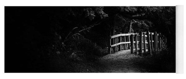 Dark Footbridge Yoga Mat