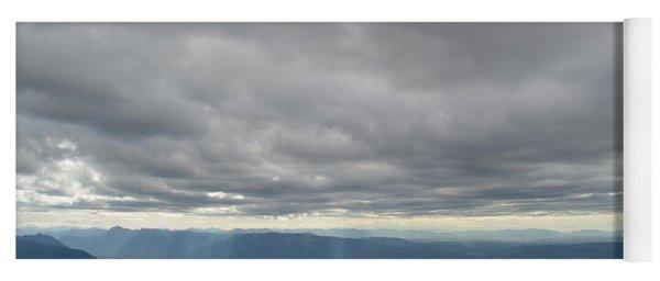 Dark Mountains Yoga Mat