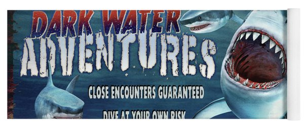 Dark Water Adventure Yoga Mat