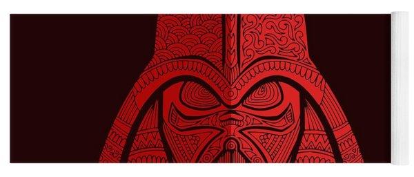 Darth Vader - Star Wars Art - Red 02 Yoga Mat