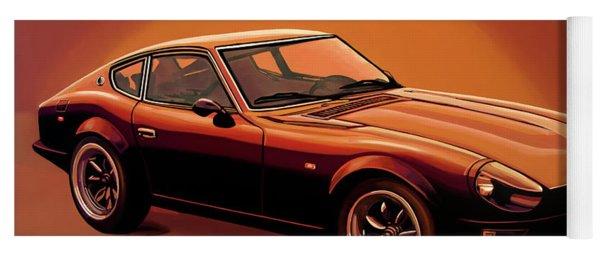 Datsun 240z 1970 Painting Yoga Mat