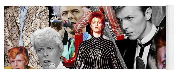 David Bowie 6 Yoga Mat
