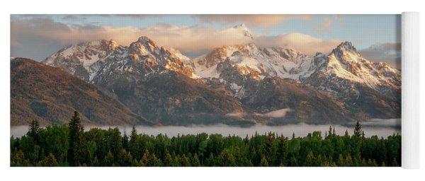 Dawn At Grand Teton National Park Yoga Mat