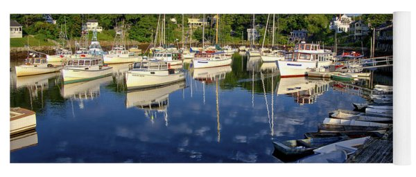 Dawn At Perkins Cove - Maine Yoga Mat