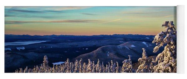 Dawn From Mt Hood Yoga Mat