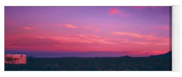 Dawn In Taos Yoga Mat