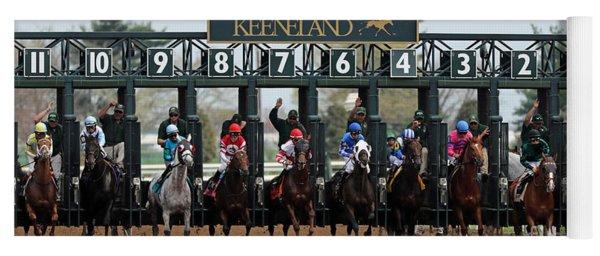 Keeneland Race Day Yoga Mat