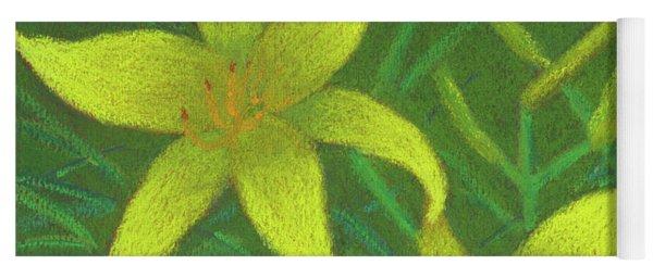 Day Lilies Yoga Mat